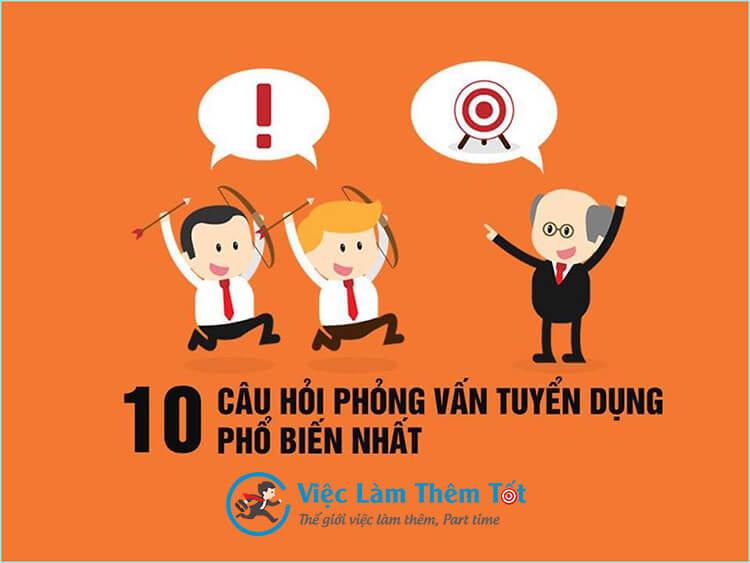 TOP 10 Câu Hỏi Phỏng Vấn Hay Gặp Và Cách Trả Lời